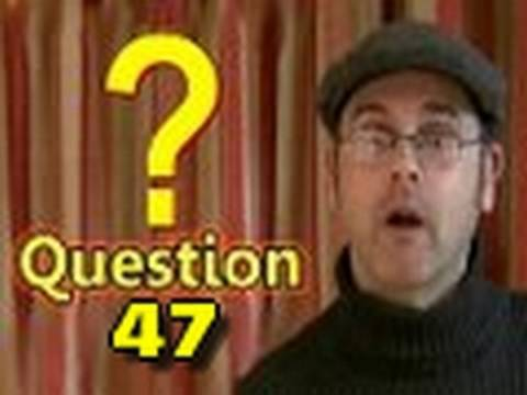 Learning English Lesson Forty Seven (Punctuation)