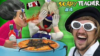 Scary Teacher & Ice Scream Date Ruined by FGTeeV!  (Miss T Chapter 4 Gameplay / Skit)