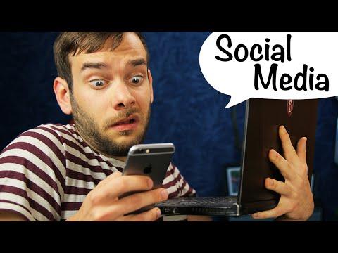 Zu viel Socialmedia!
