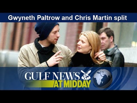 Gwyneth Paltrow and Chris Martin split - GN Midday