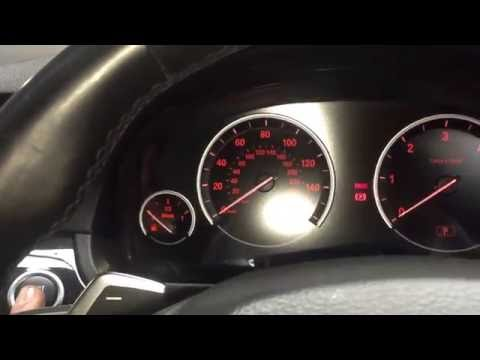 BMW 5 Series - how to reset tyre pressure monitor (TPMS)