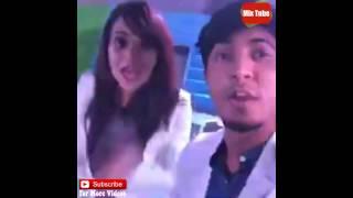 BPL 2016 Khulna Titans Launching Party - Salman Muqtadir, Sabila Nur, Tamim Mirdha And Shouvik