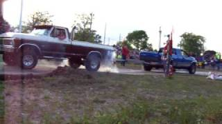 Wapak Ohio 2008 Tug a truck 77 ford vs dodge
