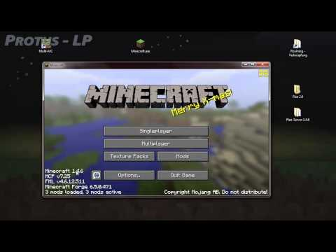 Tutorial - Flan's Mod für Minecraft 1.4.7 [SSP/SMP][Planes.Guns][Install][HD][German]