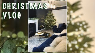 MINI CHRISTMAS VLOG - GETTING OUR HOUSE CHRISTMAS READY
