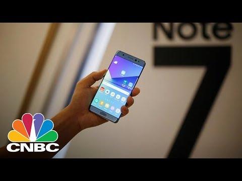 Samsung Suffers As Phones 'Catch Fire' | Tech Bet | CNBC