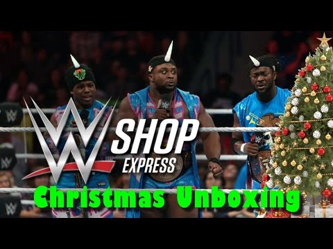 WWE Shop Christmas Unboxing & Haul :: 2 WWE Elite Figure Reviews