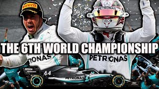 Lewis Hamilton - How His 6th World Title Was Won