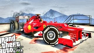 Ferrari F1 - GTA 5 PC MOD (Fastest Car in The Game)