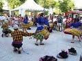 Danza Ayacuchana en la Plaza Peru - Madrid