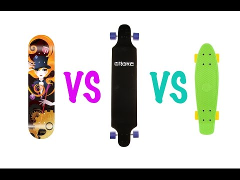 Что лучше: скейт, лонгборд или круизер?