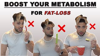 How To Boost Your Metabolism For Weight-Loss (science based diet-hack for faster fat burning)