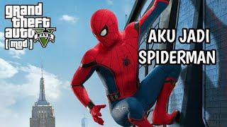 Aku Jadi Spiderman [GTA V Spiderman Mod]  GTA V Malaysia Mod🎮