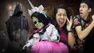 We saw the DOLL MAKER!  3am overnight with our Creepy Doll!