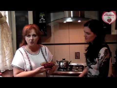 Как сварить морс из клюквы - видео