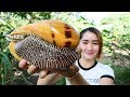 Yummy Sea Snail Curry Stir Fry Recipe - Sea Snail Curry - Cooking With Sros