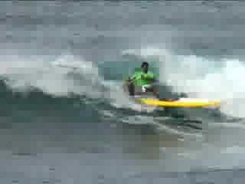 Brada Mel - Standup Paddle Surfing at Makaha