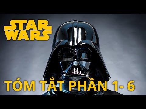 Star Wars: TÓM TẮT PHẦN 1-6 (Câu chuyện về Darth Vader) en streaming