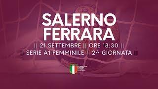 Serie A1F [2^]: Salerno - Ferrara 31-25