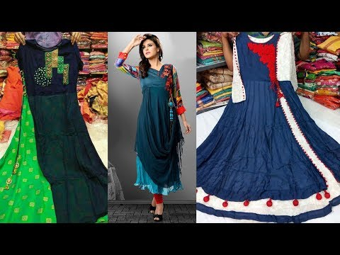 Make Your Own Designer Long Kurti Dress Designs Catalog || Festivals / Functions Special