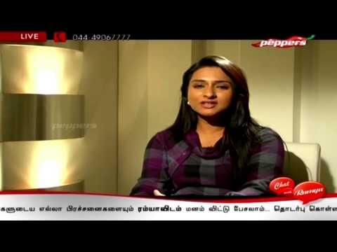 Tamil Tv Serial Actress Ramya | Chat With Ramya | 10th Jan 2014 video