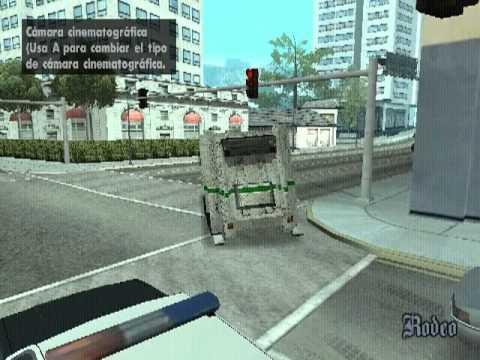 GTA San Andreas: Camion de basura