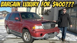 Can You Still Get a Good SUV For $400??? Lincoln Navigator CHRISTMAS MIRACLE
