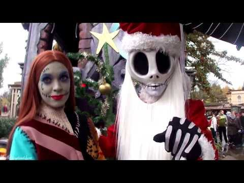 "Meeting Sally and ""Sandy Claws"" (Jack Skellington) (Disneyland Paris)"