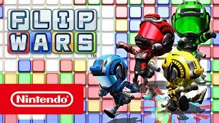 Flip Wars – Trailer (Nintendo Switch)