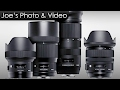 Four New Sigma Lenses Announced - 14mm, 24-70mm, 135mm Art & 100-400mm Contemporary