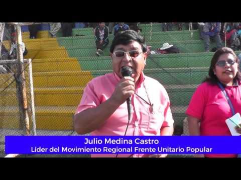 Julio Medina inauguró campeonato de mototaxistas en Alto de la Alianza