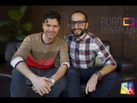 Mauricio Martínez en entrevista para Pura Pantalla con Helder Beltrán