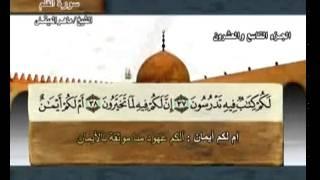 سورة القلم بصوت ماهر المعيقلي مع معاني الكلمات Al-Qalam