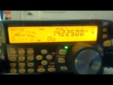 OZ2SPACE on 20 meters as recorded at KA4UDX