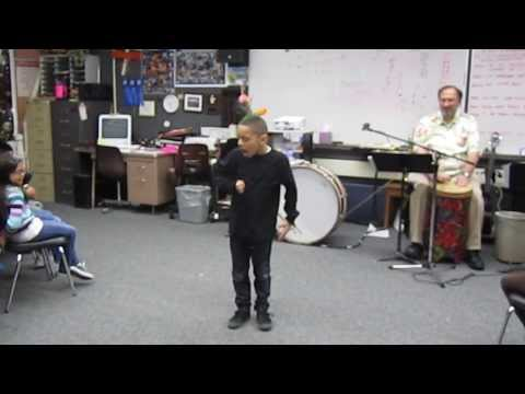 Louder Dubstep- 7 year old Chris B Fresh dancing