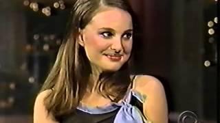 Natalie Portman on the Late Show (2000)
