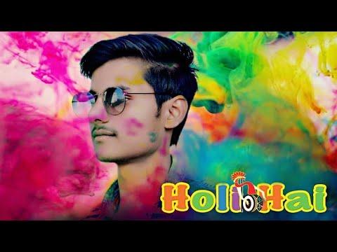 #Picsart Happy Holi Photo Editing 2018    New Holi Special Picsart Editing