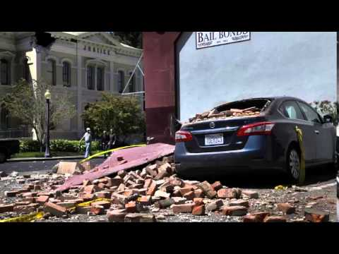 Earthquake Napa Valley California 6 0 Magnitude