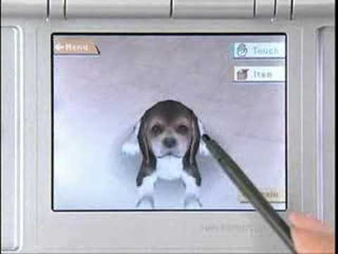Nintendo DS - Nintendogs Video