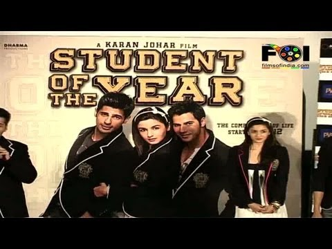 Trailer Launch Of 'student Of The Year' video