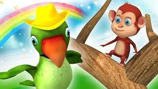 Main Tota Hindi Rhyme | Haathi Raja | Nursery Rhymes for Children | Kids Channel India