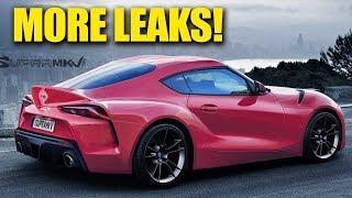 New 2020 Toyota Supra - More Leaks