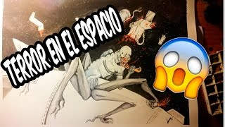 Dibujo Terror en el Espacio | Drawing Terror in the Space