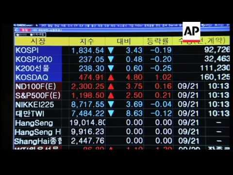 Markets in Japan, SKorea, Hong Kong and Taiwan open