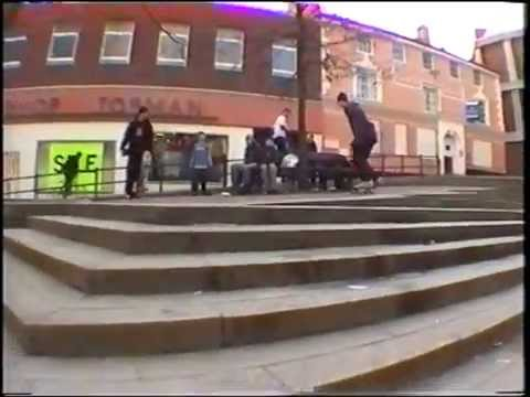 VHS RAW C&As Norwich skateboarding