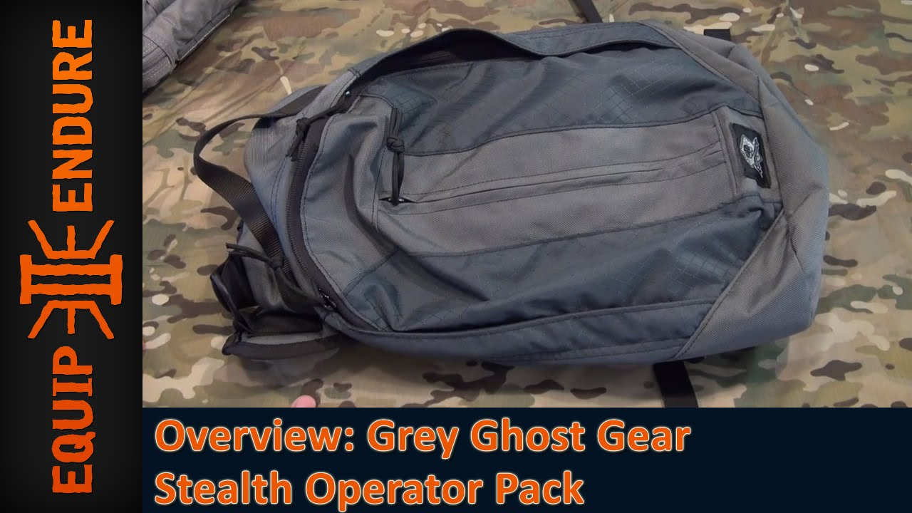 Grey Ghost Gear Stealth Operator Pack Grey Ghost Gear Stealth
