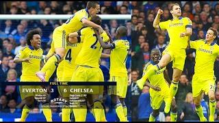 Chelsea vs Everton || 6-3 Memorable Match || All Highlights 2014 || HD