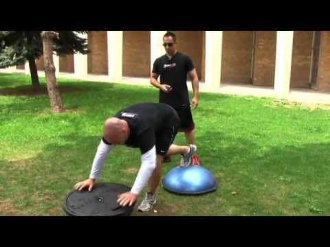 MMA Workout - Extreme Conditioning Bosu Training - Train like a MMA Fighter Image 1