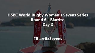 HSBC World Rugby Women's Sevens Series 2019 - Biarritz Day 2 - Finals