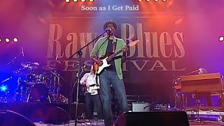 Keb Mo ** Soon as I Get Paid ** (LIVE Rawa Blues Festival)